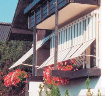 Fassadenmarkise